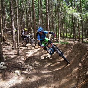 Mountainbike Skill Center in Kumitzberg 1